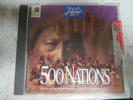Microsoft Home 500 Nations Stories of the North American Indian Experience PC - $8.00
