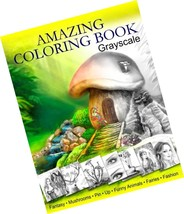 Amazing Coloring Book. Grayscale: For Grown-Ups, Adult Relaxation - $18.00