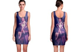 Prince Purple On Guitar Women's Sleevless Bodycon Dress - $21.80+