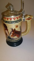 """Anheuser Busch Membership Stein 2000-""""Born To Greatness"""" CB14 - $18.99"""