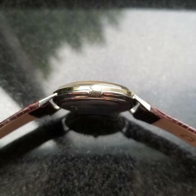 GIRARD-PERREGAUX Gold-Capped Men's Manual Hand-Wind Dress Watch c.1960s MS212 image 5