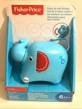 Infant to Toddler Shake Rattle N Roller ElephantToy 6 Months+  NIB lot of 2 - $13.12