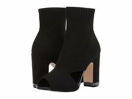 MICHAEL Michael Kors Valerie Open Toe Black Boot - £81.52 GBP