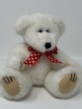 Vintage Wishpets Baby Theodore White Teddy Bear 1998 Stuffed Animal Plus... - $11.88