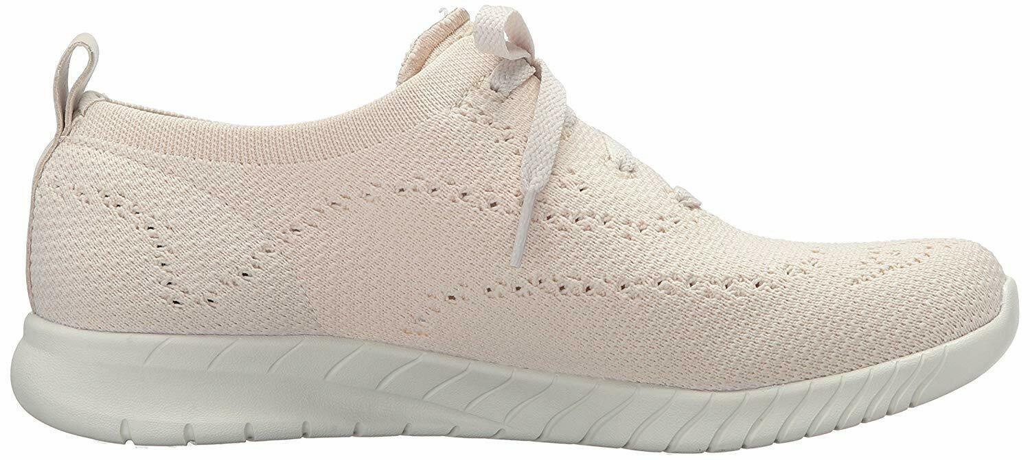 NEW Skechers Womens Natural Mesh Wave Lite-Pretty Philosophy Memory Foam Shoes 9 image 2