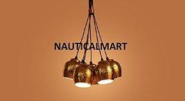 Sputnik sleek modern Pendant Light Cluster By Nauticalmart - $342.02