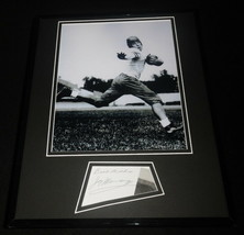 Jay Berwanger Signed Framed 11x14 Photo Display Heisman 1st NFL Draft Pick - $74.44