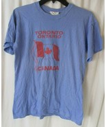 "Vintage Canada ""Toronto"" T-Shirt Retro Maple Leaf Ontario Hipster Fashio... - $64.34"