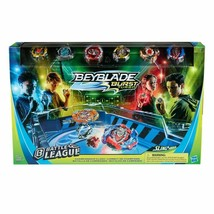 Beyblade Burst Turbo Slingshock Battle League Championship Clash Battle Set NEW - $129.99