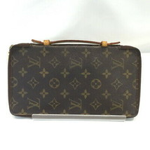 LOUIS VUITTON M60119 Used Very good Travel Case Card Case Pencil Case Japan - $485.07