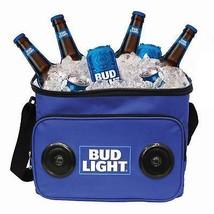 Bud Lighttooth Speaker Cooler Bag Blue - $40.98