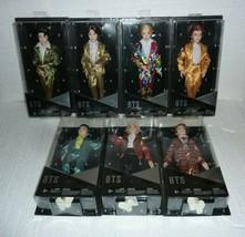 BTS Barbie Dolls Set of 7 Mattel BTS ARMY RM V SUGA JHOPE JIMIN JIN JUNG... - $193.49