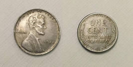 1944 P Lincoln Wheat Cent Penny (Errors,Steel) - Replica - FREE SHIPPING - $14.99