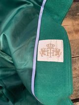 TOMMY HILFIGER Green Women's Winter Coat Size 4 Style H9457 Long Trench Full image 8