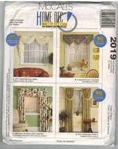 McCalls Uncut Sewing Pattern #2019 Home Decor C... - $7.50