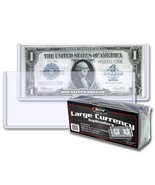 3 packs (75) BCW Large Bill Currency Topload Holders - €22,51 EUR