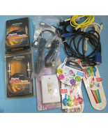 Electronic Helpers Cables Terminal Cord Identifiers Large Lot Miscellane... - $12.99