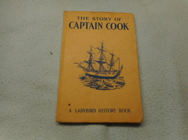 Vintage 1958 Lady Bird Book The Story Of Captain Cook series 561 - $7.94