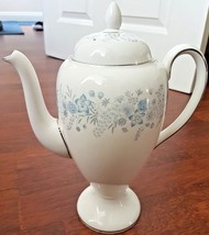 Wedgwood Belle Fleur Bone China Porcelain Teapot - $31.51
