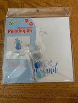 Kellys Crafts Silhouette Canvas Painting Kit Snowman - $39.08