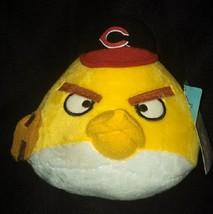 "Cincinnati Reds Yellow Angry Bird Baseball Plush 5-1/2"" tall-MLB Genuine... - $11.99"