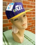 Vintage 1990s Utah Jazz Hat Adjustable Unisex New w/Official NBA Tag - $22.75