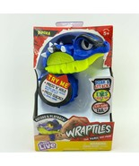 Wraptiles Vipora Little Live Pets Interactive Toy Snake Light Sound Reco... - $14.99