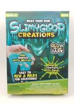 SLIMYGLOOP Make Your Own GLOW IN THE DARK Slime Creations Sparkle Glitte... - $13.54