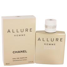 Chanel Allure Homme Blanche 3.4 Oz Eau De Parfum Cologne Spray image 4