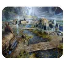 Mouse Pad Far Cry Primal Village For Action Adventure Jungle Video Game ... - $171,76 MXN