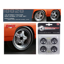 Wheel and Tire Set of 4 from 1970 Plymouth Road Runner The Hammer Furiou... - $28.04