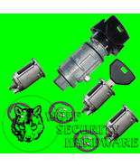 Jeep TJ Wrangler 1997 Ignition Door Rear Key Switch Lock Cylinder Set 2 ... - $91.46