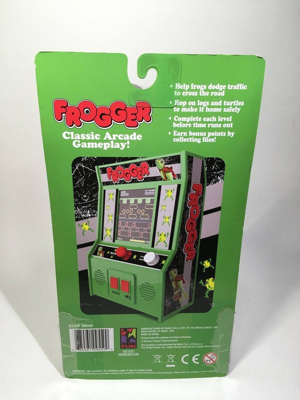 Frogger Mini Handheld Arcade Classic Machine and 50 similar