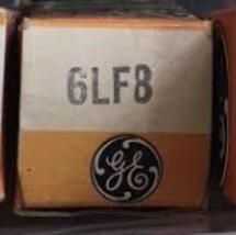 General Electric GE 6LF8 Vacuum Radio Electron ... - $7.50