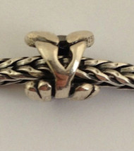 """Authentic Trollbeads Sterling Silver Letter """"Y"""" Charm 11144y, New - $21.84"""