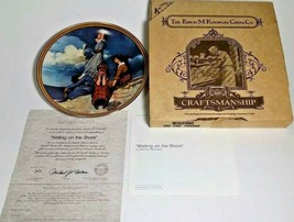 """KNOWLES-NORMAN ROCKWELL-""""WAITING On The Shore"""" Collectable PLATE-IN BOX-1983 - $3.96"""