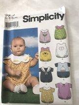 Simplicity 9719 Baby's Romper - $6.30