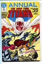 New Teen Titans Annual Vol.2 #2 Comic 1986- Origin Of Brother Blood - $25.22