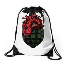 Heard Granade Drawstring Bags - $30.00