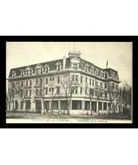 Camfield Hotel Postcard 1909 Colorado Greeley Corner Veranda CO PC - $24.50