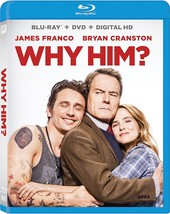 Why Him? (2017, Blu-ray + DVD + Digital HD)