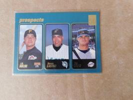 prospects baseball card #369 topps 2000 j.r house, ramon castro, ben davis - $6.99