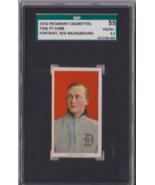 1910 T206 Piedmont Ty Cobb Red Portrait SGC 55 Great Color Clean P582 - $6,730.97