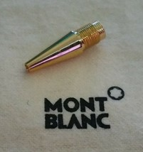 MontBlanc pen replacement spare parts Mont Blanc Lower Tip Gold Used - $30.03