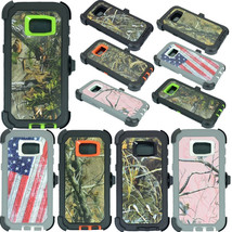 NEW Camo For Samsung Galaxy S7 Edge Case (Clip Fits OtterBox Defender) - $242,37 MXN