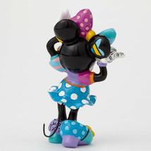 """3.25"""" Disney Britto Minnie Mouse Mini 3 Dimensional Figurine Stone Resin image 2"""