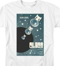 Star Trek T-shirt TNG Season 4 Clues Retro 80s 90s Sci-Fi graphic tee CBS2104 image 2