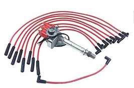 A-Team Performance Ready 2 Run R2R Small Red Cap Distributor Coil and Red 8mm Sp image 1