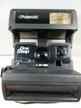 Vintage Polaroid One Step Close Up Instant Camera & Strap 600 Film - $51.48