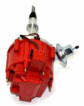 AMC Jeep Straight 6 232 3.8L & 258 4.2L 65K COIL Red Cap HEI Distributor image 4